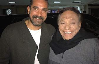 امير كرارة وروجينا يهنئون الزعيم عادل إمام بعيد ميلاده| صور