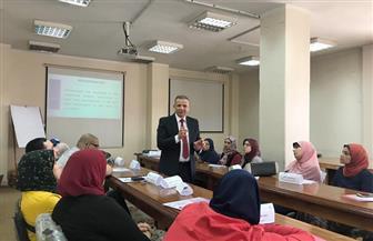نائب رئيس جامعة طنطا يؤكد أهمية النشر الدولي للأبحاث   صور
