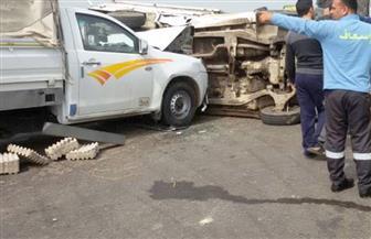مصرع شخصين في تصادم سيارتين على طريق الإسكندرية الصحراوي