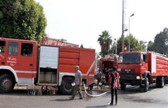الحماية المدنية بالإسكندرية تسيطر على حريق  بمستشفى القباري العام