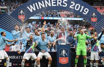 مانشستر سيتي يتوج  بطلا لكأس الاتحاد ويضرب رقما قياسيا جديدا بالبطولات الإنجليزية