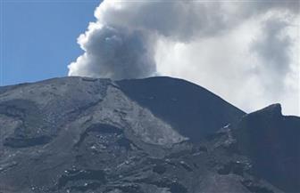 """رفع مستوى التحذير من بركان جبل """"هاكون"""" فى اليابان"""