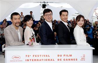 """أبطال الفيلم الصينى """"بحيرة الأوز البرى"""".. على السجادة الحمراء لمهرجان كان  صور"""