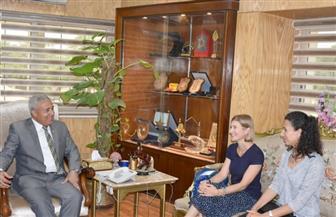 محافظ أسوان يلتقي نائب مدير مكتب التعاون السويسري بمصر   صور