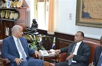 سفير تنزانيا يشيد بجهود مصر وريادتها في أفريقيا واهتمامها بقضايا القارة