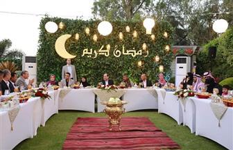 الحاجة أمل: إفطاري مع الرئيس السيسي أعطانى الأمل لحياة مليئة بالخير والسعادة   صور