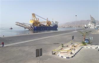 ميناء سفاجا يستقبل أول سفينة خدمات بترولية ذات مهام خاصة
