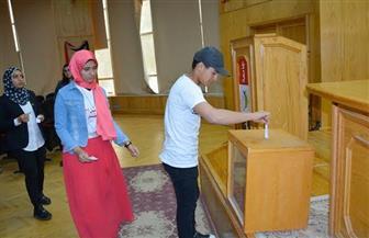بالأسماء.. انتخاب قيادات برلمان شباب جامعة الفيوم | صور
