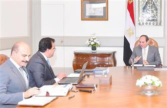 الرئيس السيسي يوجه بمواصلة جهود النهوض بمنظومتي التعليم العالي والصحة