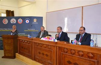 رئيس جامعة السويس يشهد فعاليات المؤتمر السنوي للأمراض الصدرية| صور