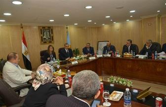 """""""والي"""" و""""نور الدين"""" يجتمعون بأعضاء مجلس النواب لمناقشة دعم برامج ومشروعات التضامن الاجتماعي بالقرى  صور"""