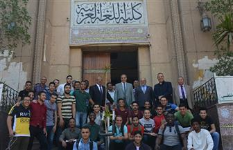 رئيس جامعة الأزهر يتفقد لجان الشفهي بكليات قطاع الدراسة |صور