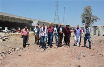 محافظ الجيزة يتابع أعمال تطوير طريق طراد النيل بتكلفة 33 مليون جنيه  صور