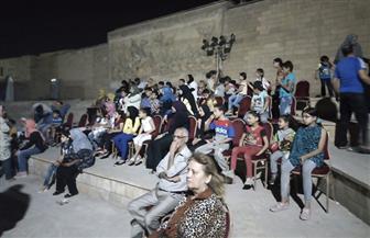 75 طفلا يشاهدون عروضا سينمائية  لقصور الثقافة بشارع المعز في رمضان | صور