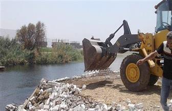 إزالة 176 حالة تعد على النيل ومنافع الري والصرف في أسبوع