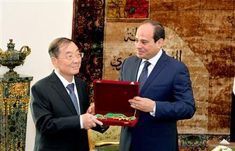 بسام راضى: الرئيس السيسي يمنح سفير الصين بالقاهرة وسام الجمهورية من الطبقة الأولى