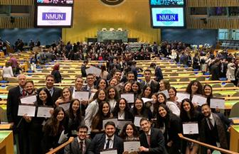 طلاب نموذجي الأمم المتحدة والجامعة العربية بالجامعة الأمريكية يحصدون الجوائز في المؤتمرات الدولية   صور