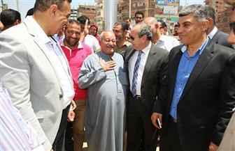 محافظ كفر الشيخ يستمع لأهالي حي القنطرة | صور