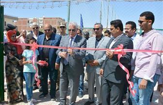 محافظ جنوب سيناء يفتتح ملعبا خماسيا بمركز شباب الطور| صور