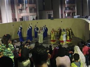 الشرقية للفنون الشعبية تسعد أهالى الأسمرات | صور