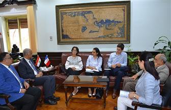 جامعة الإسكندرية تبحث اتفاقية تعاون مع جامعة إكس مارسيليا الفرنسية