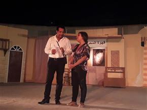 """""""قامات مصرية"""" عرض مسرحى بالحديقة الثقافية بالسيدة زينب"""