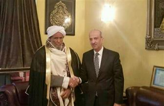 سفير مصر بأديس أبابا يلتقي مفتي إثيوبيا ويناقش سبل تعزيز التعاون مع الأزهر