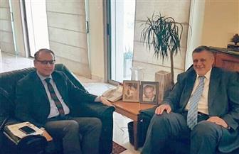 سفير مصر في لبنان يعقد لقاءات ثنائية مع مُمثلي مؤسسات الأمم المتحدة ببيروت