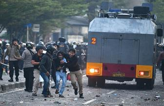6 قتلى و200 مصاب في اضطرابات بعد إعلان نتائج الانتخابات في إندونيسيا صور