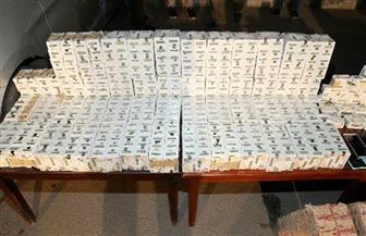 بقيمة 10 ملايين جنيه.. إحباط تهريب أكثر من 171 ألف قرص مخدر وقت الإفطار | صور