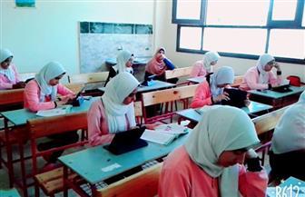 91 % أدوا امتحانات أولى ثانوي إلكترونيا بالوادى الجديد | صور