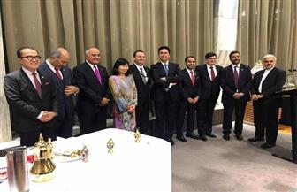 السفير المصري لدى نيوزيلندا يقيم حفل إفطار رمضان السنوي|صور