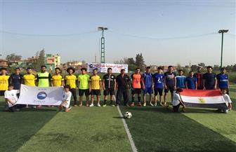 افتتاح دورة مستقبل وطن الرمضانية لكرة القدم بكفر الشيخ | صور