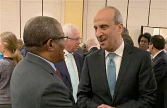 سفير مصر بأديس أبابا يلتقى مع وزير خارجية إثيوبيا الجديد فى أول لقاء دبلوماسي   صور