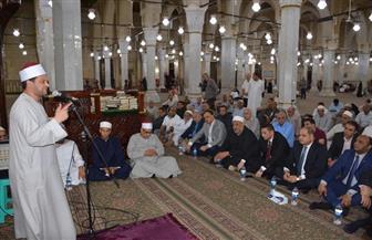 محافظ الغربية يشهد احتفالية مديرية الأوقاف بذكرى غزوة بدر | صور