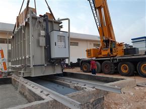 محافظ مطروح: إطلاق التيار الكهربي لتشغيل محطة تحلية مياه العلمين الجديدة | صور