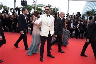 """محمد كريم على السجادة الحمراء في مهرجان كان بفيلم """"A Score to Settle""""  صور"""