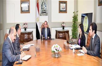 تفاصيل اجتماع الرئيس السيسي مع وزيرة السياحة