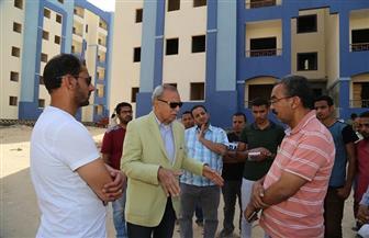 الهجان: الانتهاء من تنفيذ الوحدات السكنية بمدينة غرب قنا في يونيو ٢٠٢٠ | صور