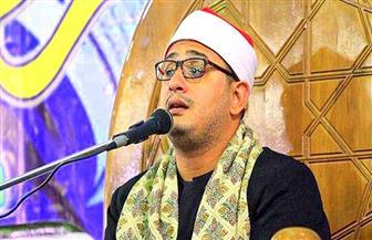 """القارئ محمود الشحات يتحدث عن رحلته مع التلاوة على """"أخبار مصر""""   فيديو"""