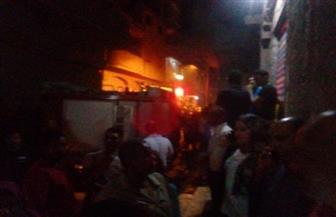 مصرع طفلين في حريق داخل شقة بالمحلة الكبرى نتيجة ماس كهربائى | صور