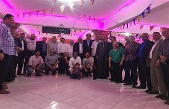 """""""الوفد"""" ينظم إفطارا جماعيا بكفر الشيخ بحضور قيادات الحزب"""
