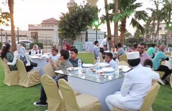 حفل إفطار للأطفال المودعين بدار الرعاية باتحاد الشرطة |فيديو