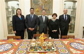 سفير مصر في بلجراد يستضيف رئيس صربيا في إفطار السفارات والقيادات الإسلامية |صور