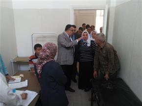 نائب رئيس جامعة الإسكندرية يتفقد سير امتحانات نهاية الفصل الدراسي الثاني |صور