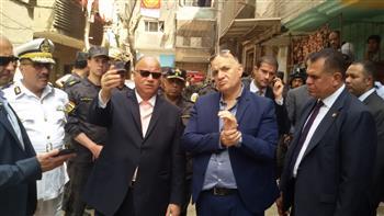 محافظة القاهرة تزيل 28 عقارا في حكر السكاكيني وتنقل 780 أسرة لمساكن المحروسة