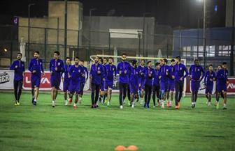 تدريبات بدنية شاقة للاعبي الأهلي في مران اليوم