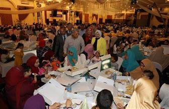 لجنة حماية الطفل بالمنوفية تنظم حفل إفطار جماعى لـ 500 طفل يتيم