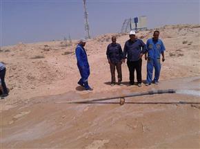 مياه مطروح: ضبط 20 وصلة خلسة لري زراعات الأهالي في منطقة الضبعة بنظام الغمر