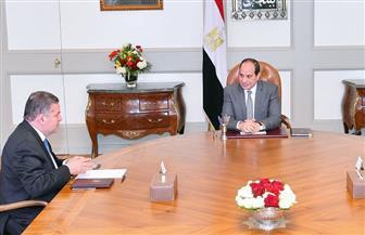 الرئيس السيسي يبحث مع وزير قطاع الأعمال مستجدات خطة إصلاح وتطوير الشركات